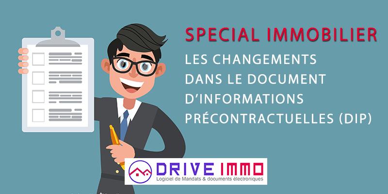 le Document d'Informations Précontractuelles (DIP)